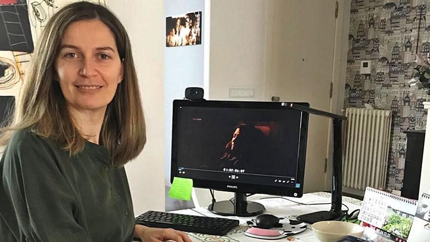 """Emma Lustres, embajadora del """"orgullo meco"""""""