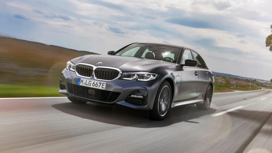 Nuevo BMW 330e, la nueva versión híbrida enchufable del Serie 3