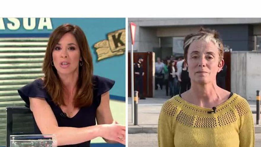 Tensa entrevista de Mamen Mendizábal a la madre de un acusado de Alsasua