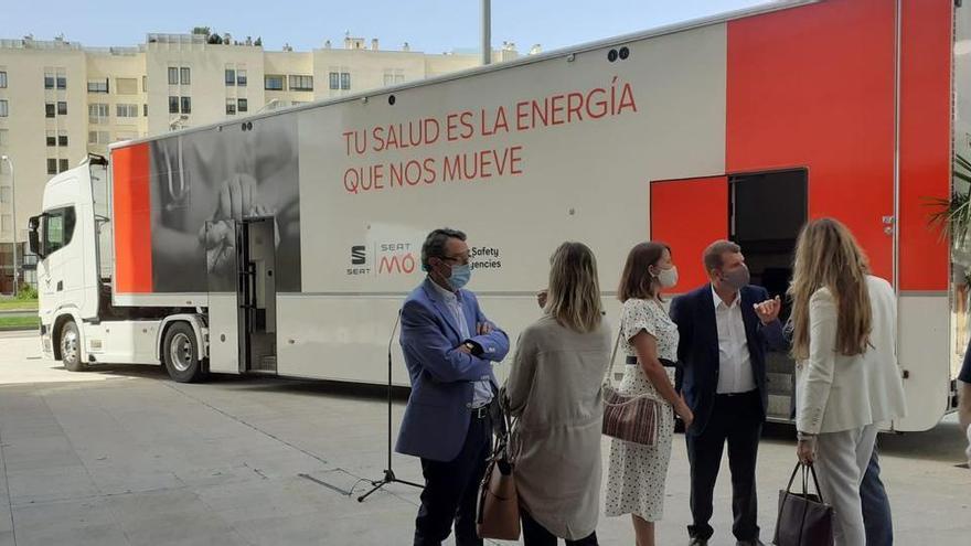 Balearen nehmen drei mobile Impfstationen in Betrieb