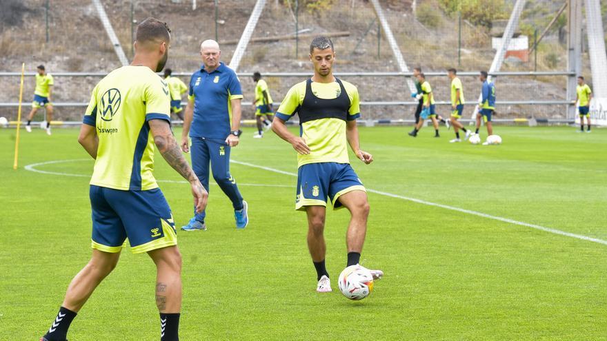 Entrenamiento de la UD Las Palmas (24/08/2021)
