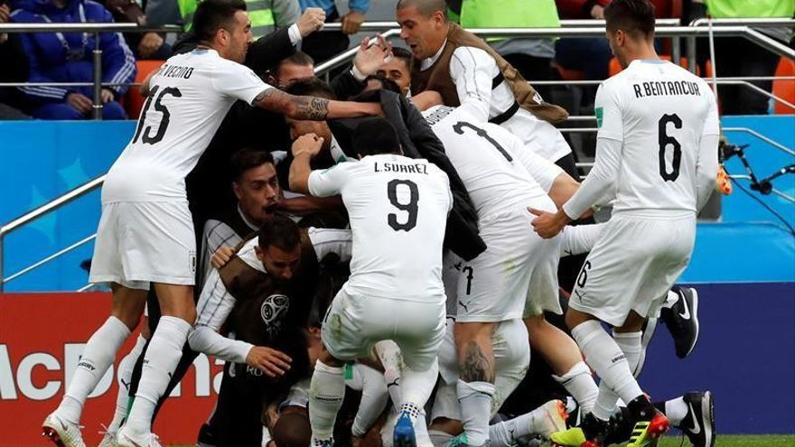 Giménez da la victoria a Uruguay (0-1)