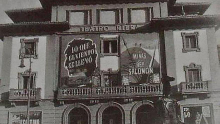 El teatro Riera, bodas de brillantes sin oropeles