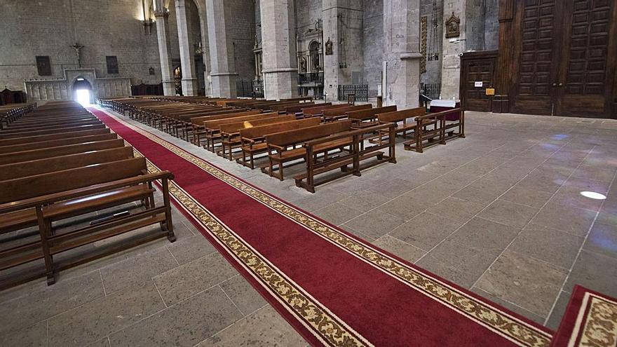 La Seu vestirà la nau amb una catifa de 43 metres  en les dates assenyalades