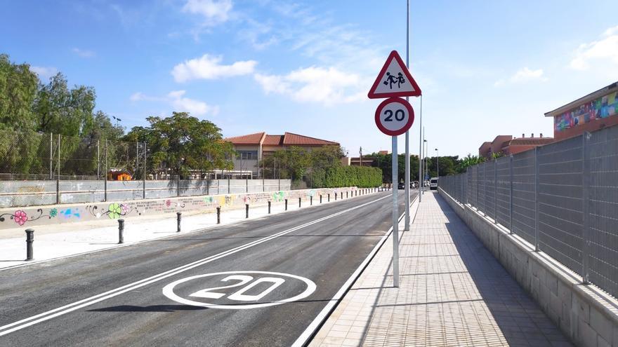 Sant Joan finaliza las obras de apertura de la avenida del Instituto