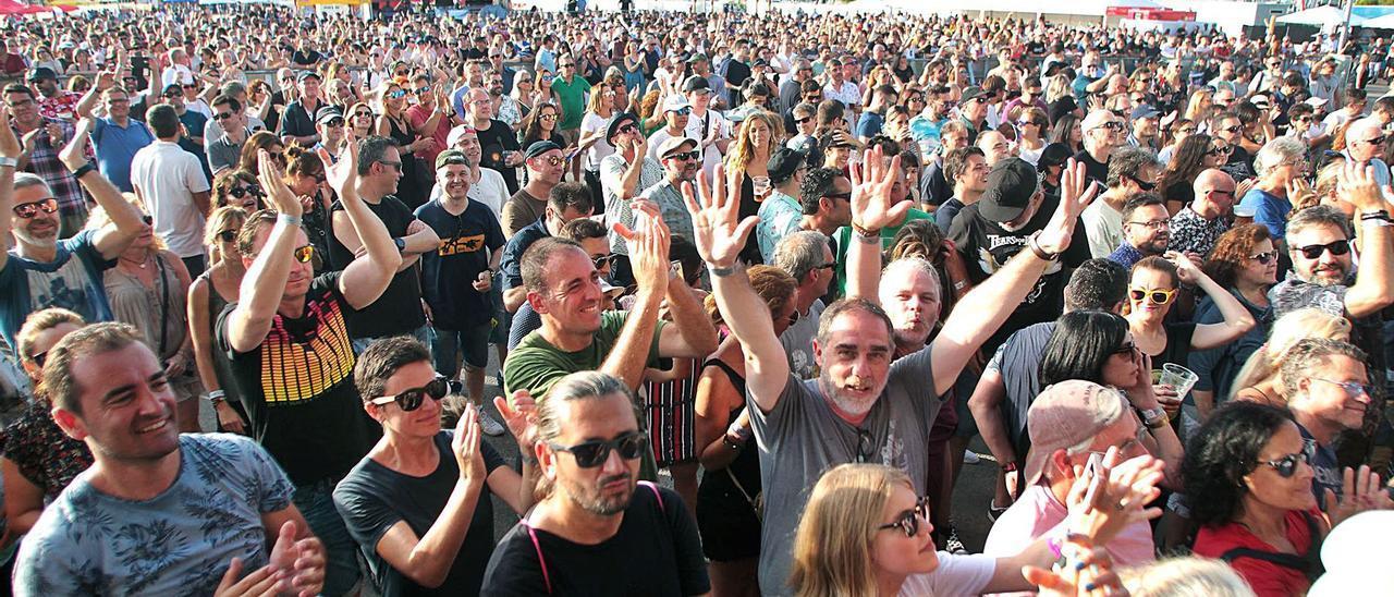 Festival musical celebrado en la Marina de València en julio de 2019. | MAO