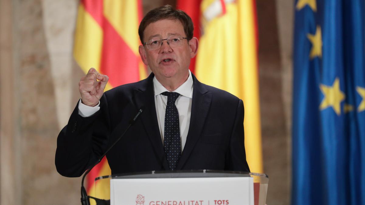 Fotografía de archivo de Ximo Puig, president de la Generalitat Valenciana.