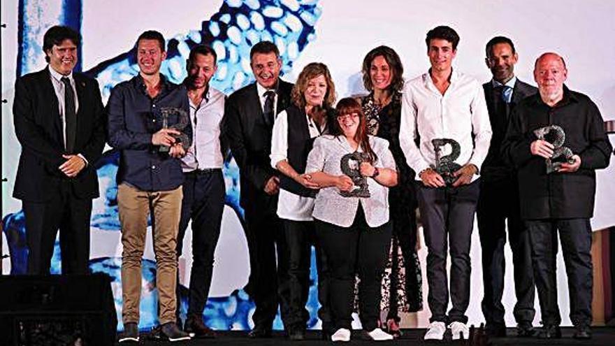 L'atleta Oriol Cardona rep  el Premi Banyolí  de l'Any 2019