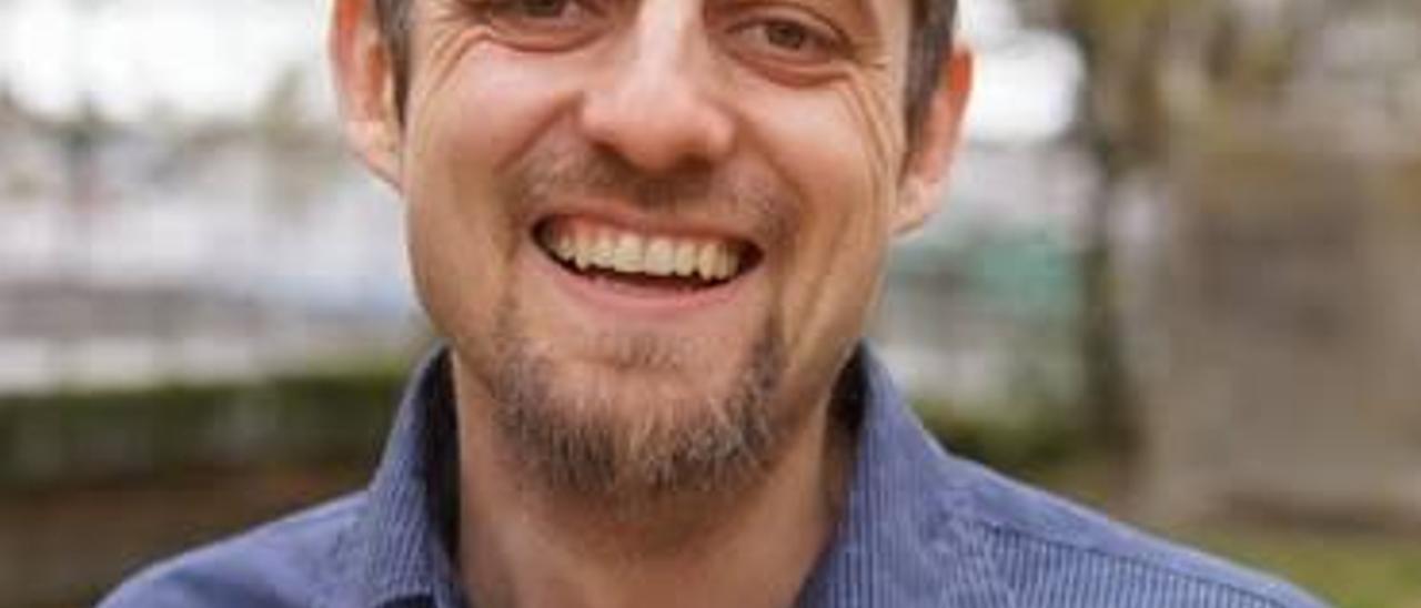 El francés Florent Marcellesi, político, escritor y activista.