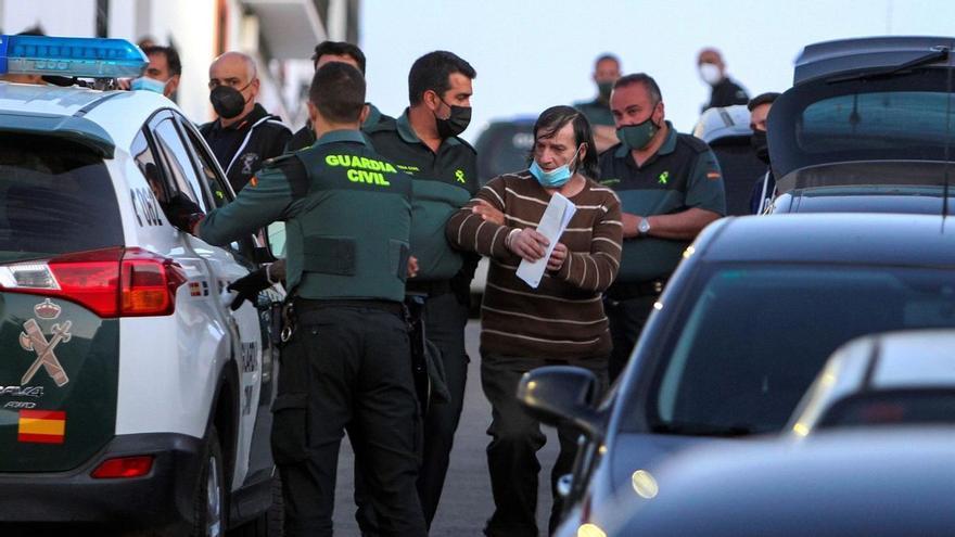 Así fue la detención del hombre sospechoso de la muerte de sus dos hermanos en Los Santos de Maimona
