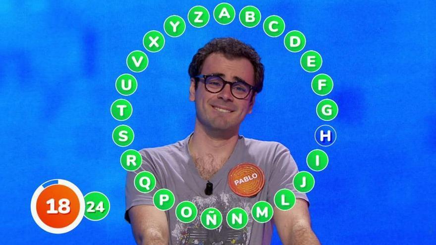 ¿Se llevará Pablo el bote de 'Pasapalabra'? Antena 3 lo avanza en una emocionante promo