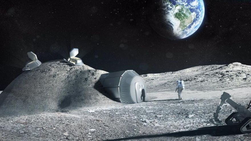 Hallan un modo de convertir el polvo lunar en oxígeno