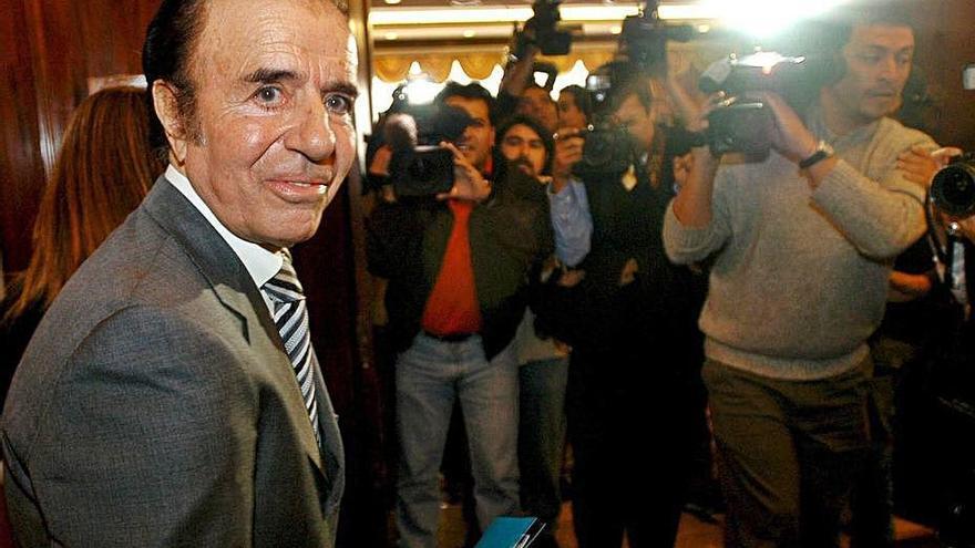 Mor l'expresident argentí Carlos Menem, que va estar al poder entre 1989 i 1999