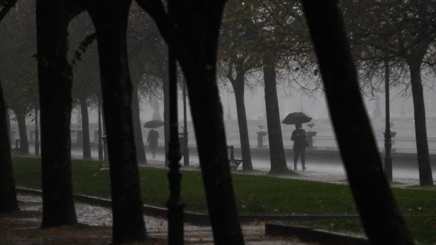 La llegada de varias borrascas dejará lluvias e inestabilidad toda la semana