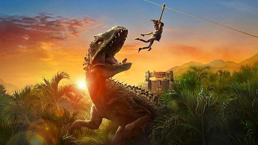 Parque Jurásico tendrá una segunda temporada en Netflix