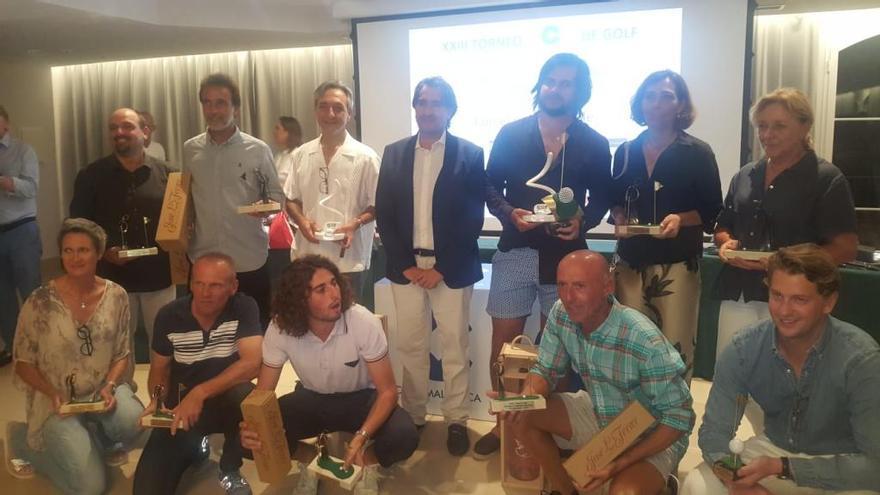 Ignacio y Enrique Fons ganan el Torneo COPE de Golf