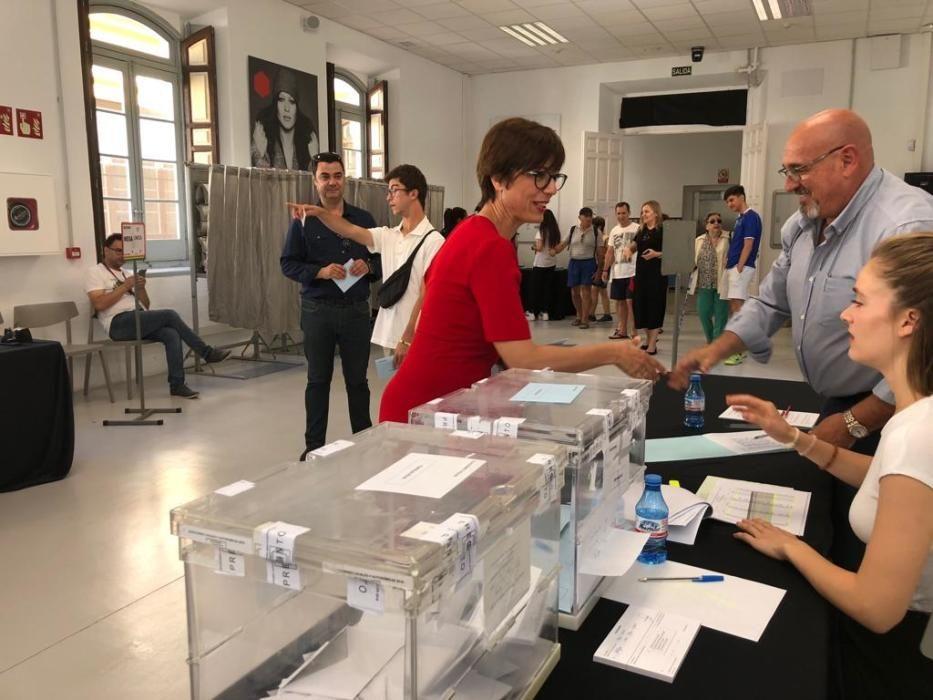 La subdelegada del Gobierno en Málaga, María Gámez (PSOE)