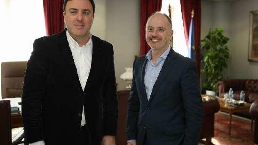 Diputación de A Coruña y Zona Franca de Vigo se alían para potenciar el emprendimiento