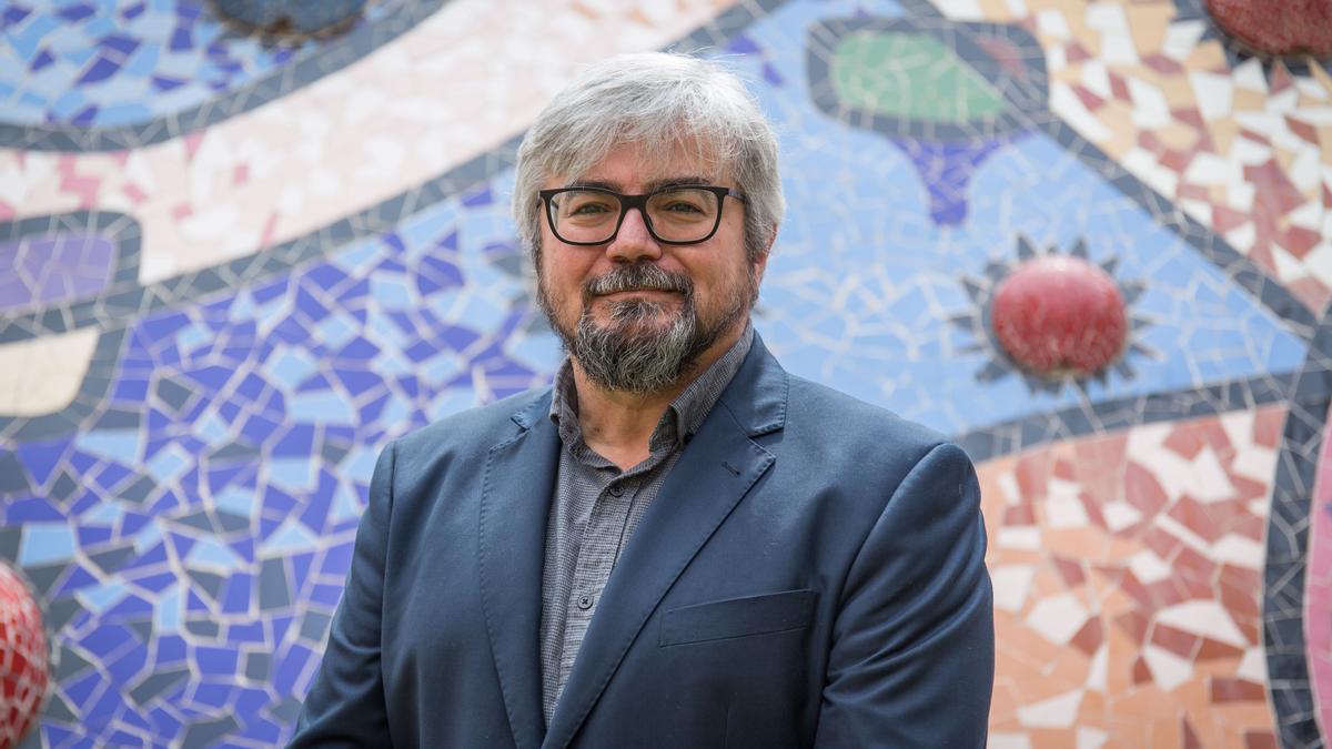 El director de la Cátedra FACSA de Innovación en el Ciclo Integral del Agua de la Universitat Jaume I, Sergio Chiva Vicent.
