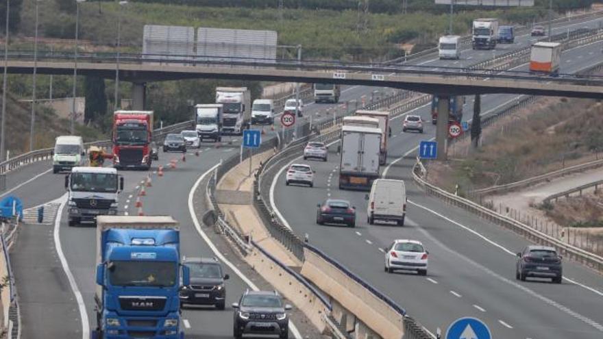El Gobierno solo ampliará 39 kilómetros de la autovía A-7 entre Crevillent y Murcia