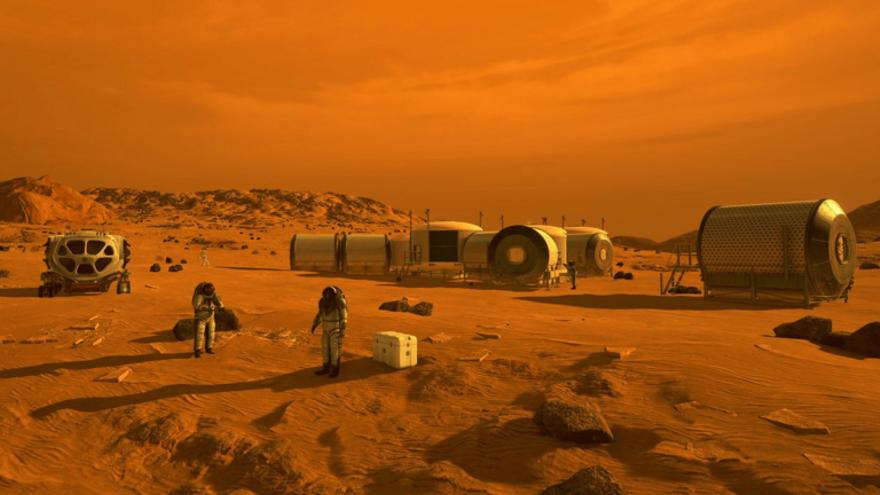 Crean un sistema para producir biocombustibles en Marte
