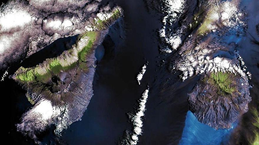 El IAC difunde las primeras fotos de Canarias tomadas por la cámara 'Drago'
