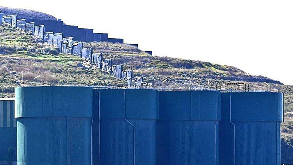 Planta de tratamiento de residuos de Nostián.