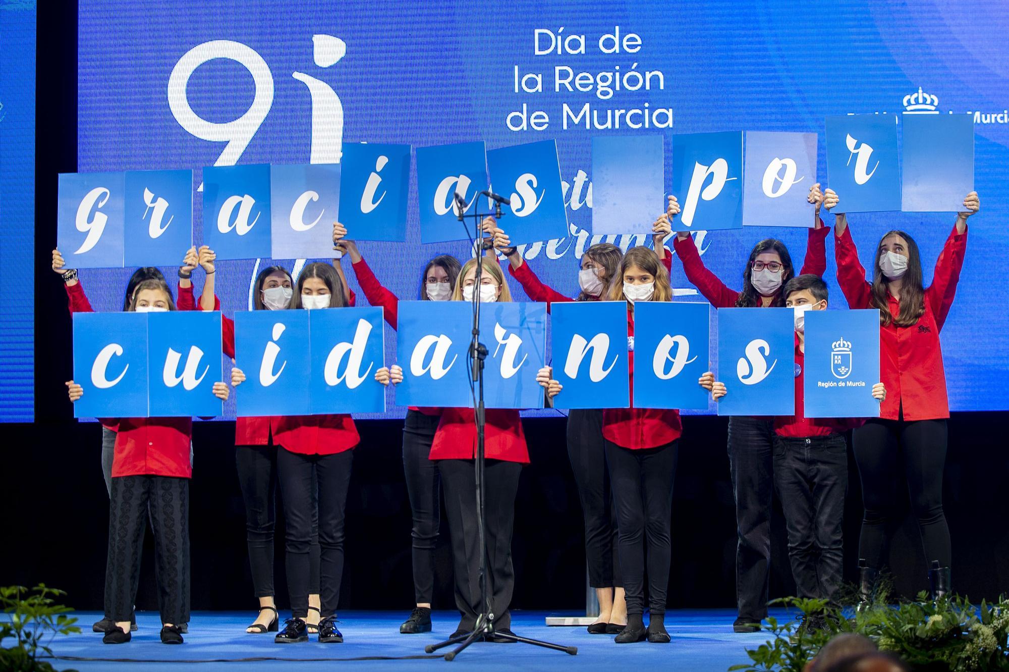 Acto institucional del Día de la Región