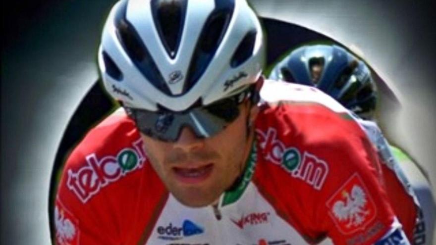 Jorge Bueno -con el maillot del Telco´m- lucirá su nueva equipación a partir del 1 de enero.