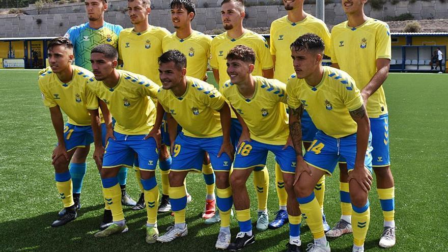 La pizarra de Yoni Oujo le da tres puntos a Las Palmas C