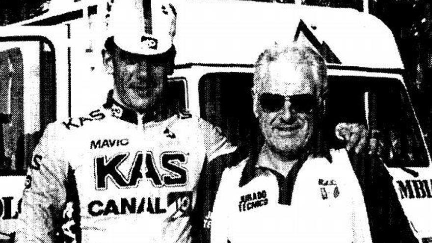 Mor a 89 anys el figuerenc Albert Ferrer, àrbitre internacional de ciclisme UCI