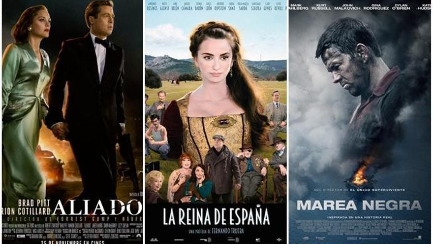 Brad Pitt y Cotillard vs Penélope y Trueba: duelo de ases
