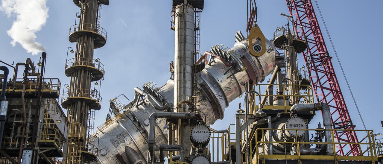 Instalaciones de BP en Castelló.