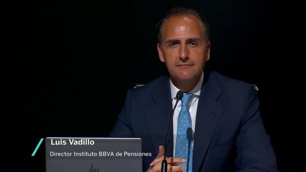 Luis Vadillo, director del Instituto BBVA de pensiones
