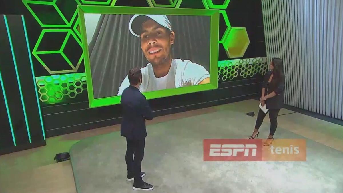 Nadal, durante suentrevista con el canal ESPN Argentina