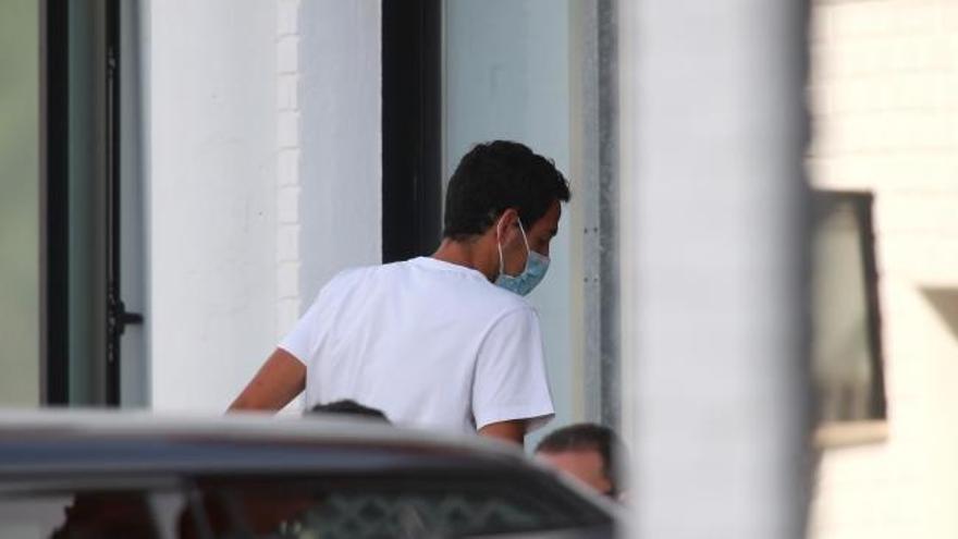 Parejo se somete a la revisión médica en la Ciudad Deportiva del Villarreal