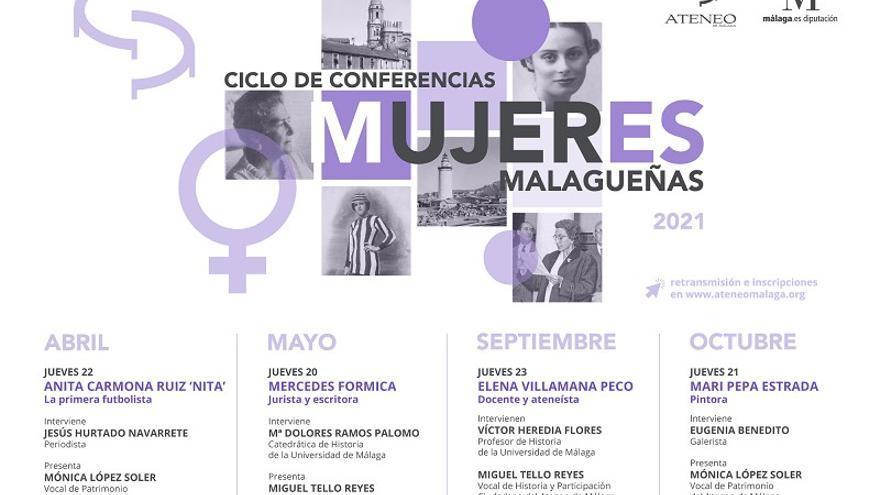Ciclo de conferencias: Mujeres malagueñas