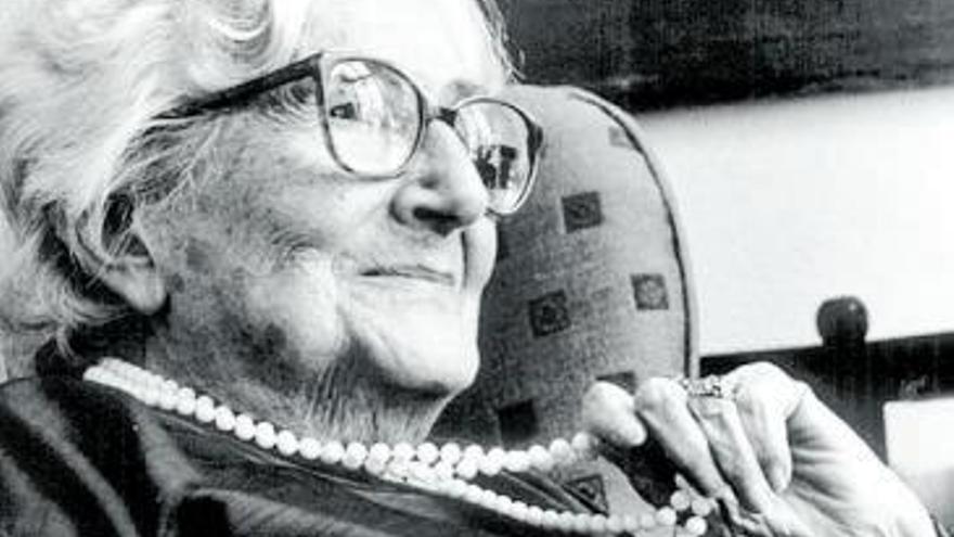 Rosa Chacel i el seu barri de Maravillas
