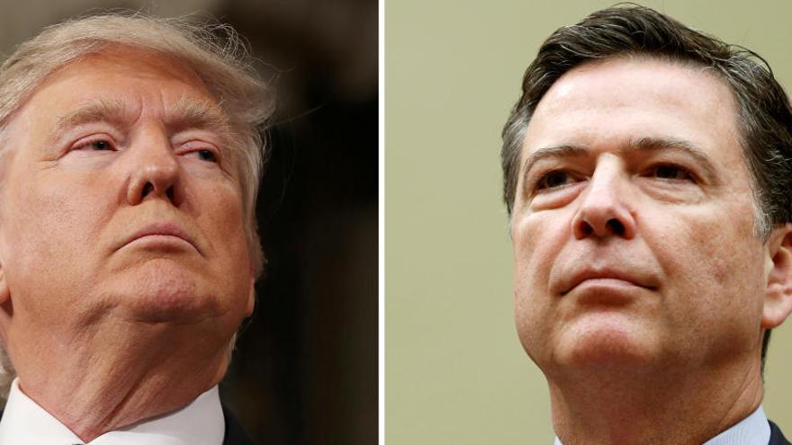 Donald Trump planteó a James Comey encarcelar a periodistas que publiquen información secreta