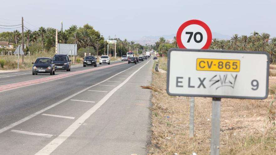 El Consell reactiva las obras para desdoblar la carretera de Santa Pola