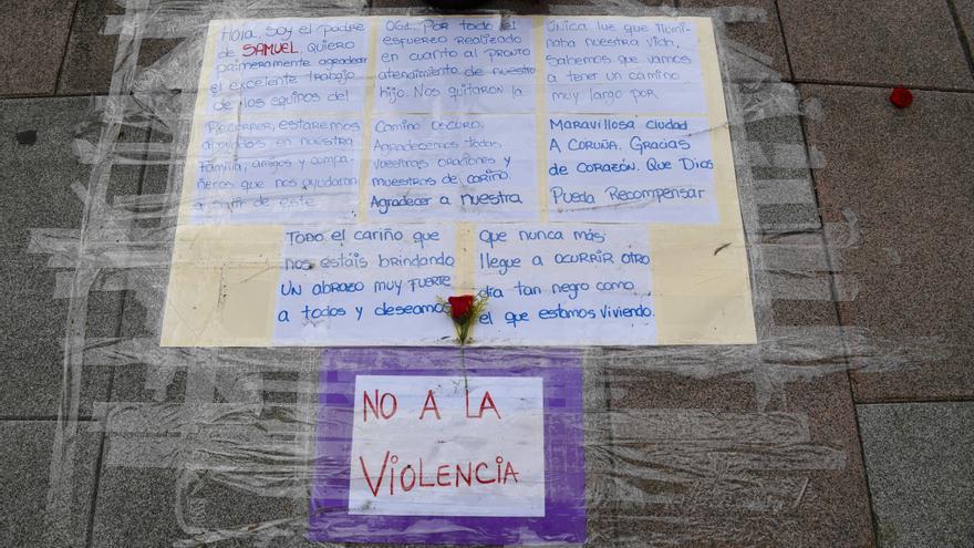 La Policía estrecha el cerco en el crimen de Samuel en A Coruña con la declaración de siete implicados