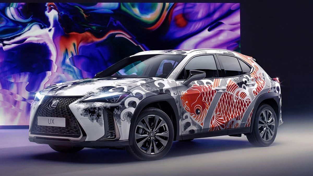 Lexus lleva al automóvil el arte del tatuaje
