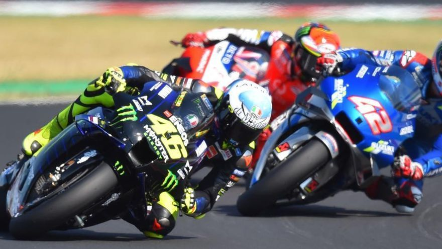 Morbidelli estrena triomf en MotoGP