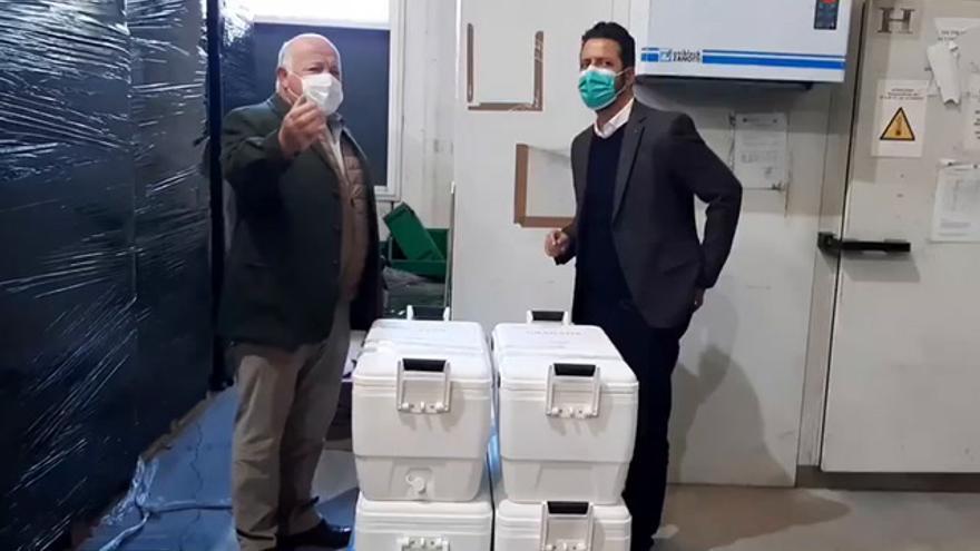 Llegan a Andalucía las primeras vacunas contra el covid-19