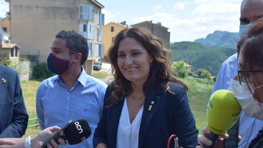 Vilagrà diu que el Berguedà es podria tenir en compte en les converses amb el territori pels Jocs d'Hivern