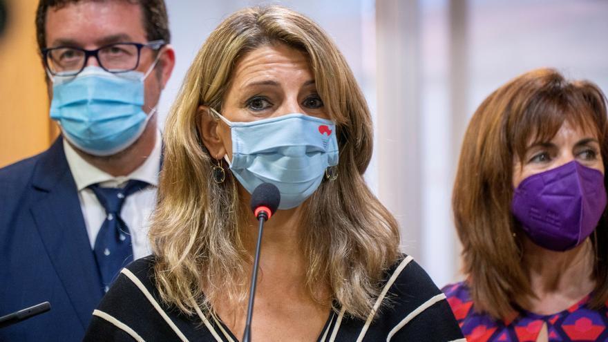 """Díaz pide cautela a Escrivá sobre la jubilación: """"No generemos más tensiones"""""""