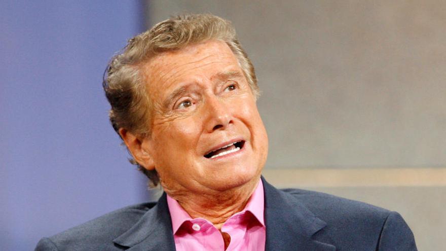 Muere el icónico presentador de televisión Regis Philbin