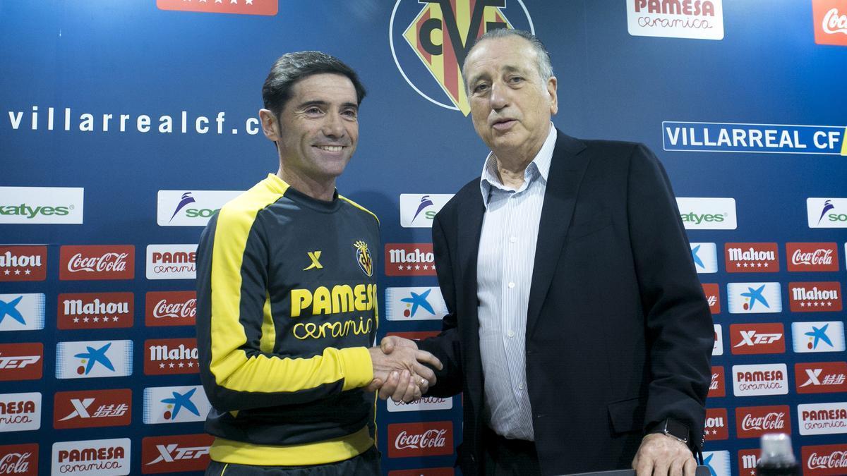 Fernando Roig, junto a Marcelino.