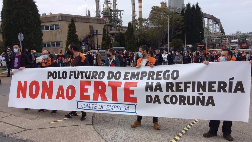La Xunta confía en el compromiso de Repsol con A Coruña y Galicia