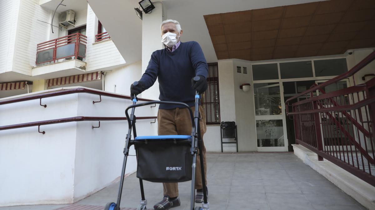 User of a nursing home